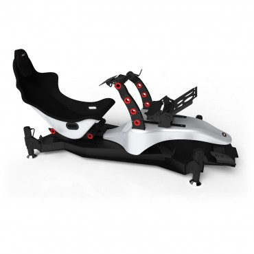 RS Formula M4A Silver-Red Full Motion, Electrical Adjustment of the pedals and seat